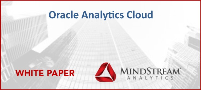 Oracle Analytics Cloud DataSheet