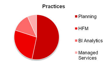Planning, HFM, Bi Analytics, Managed Services