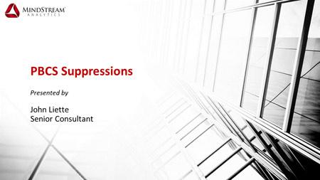 PBCS Suppression: